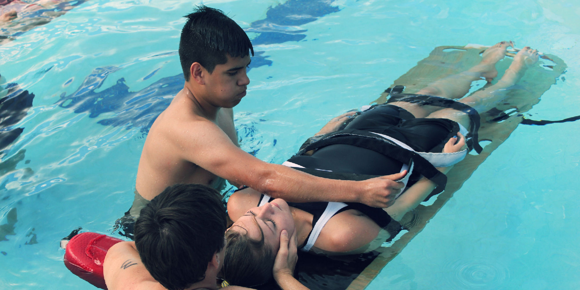 Christian Castle Lifeguard Olympics - Drowning Prevention Coalition of El Paso, Texas